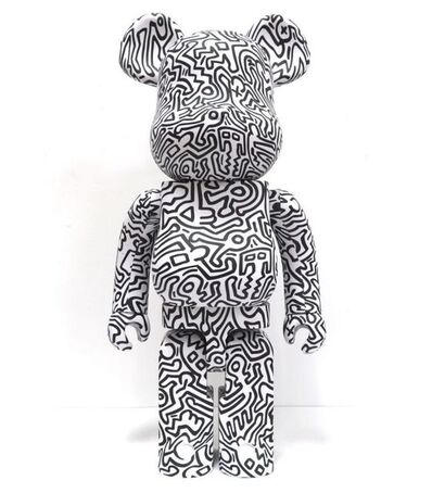 BE@RBRICK, 'Keith Haring version 4 1000%', 2018