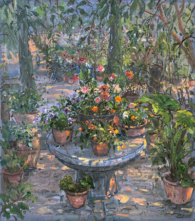 Bruno Zupan, 'Summer in Isabel's Garden', 1996