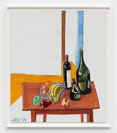 Alice Neel, 'Fruit and Bottles', 1984