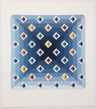 Marko Spalatin, 'Quantum VII (Abstract Geometric Composition)', Unknown (approx. late 90s early to 2000s)