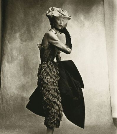 Irving Penn, 'Cocoa Dress (Balenciaga), Lisa Fonssagrives-Penn', 1950