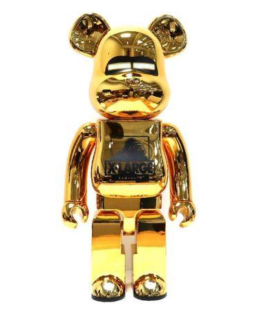 BE@RBRICK, 'XLarge & Hajime Sorayama Gold 1000%', 2019