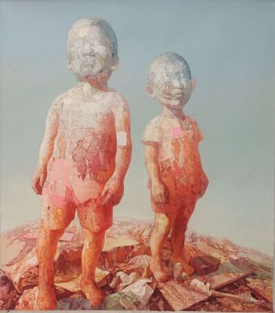 Xiao Hong 肖红, '两个小孩 The two children ', 2011