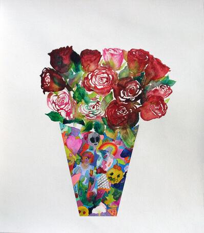 Lola Rose Thompson, 'Flowers To Make Up For Death (Roses)', 2015
