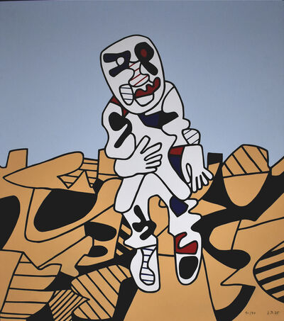 Jean Dubuffet, 'The Walk in the Countryside | Marche en Campagne', 1975