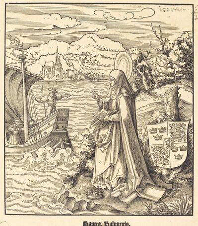 Leonhard Beck, 'Saint Walpurgis', 1516/1518