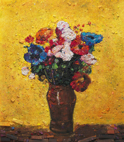 Vik Muniz, 'Metachrome (Flowers, after Odilon Redon I)', 2016