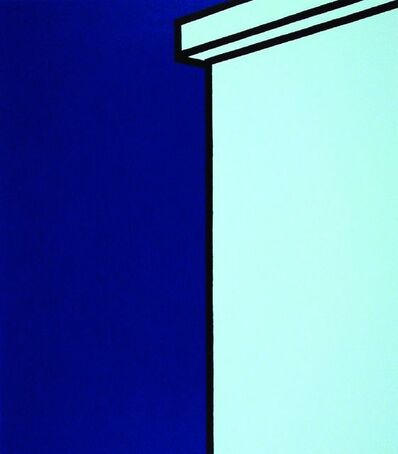 Patrick Caulfield, 'Making Circles On Park Lagoons; Oh! If One Of Them, Some Fine Evening, Would Try', 1973