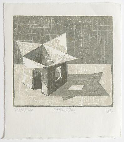 Hans Christian Rüngeler, 'Offenes Haus', 1996