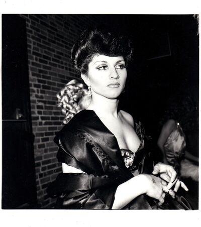 Nan Goldin, 'Colette in Sophie Loren drag', 1973