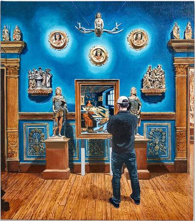 Joe Fig, 'Lucas Cranach the Elder plus Mermaid and Others/Ringling Museum', 2020