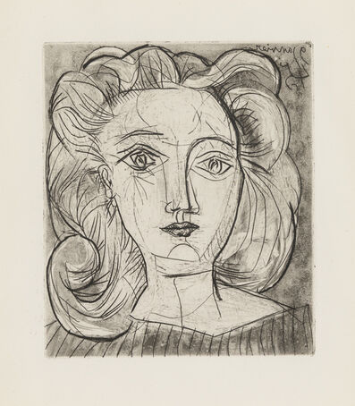 Pablo Picasso, 'Head of a Woman (Francoise)', 1945