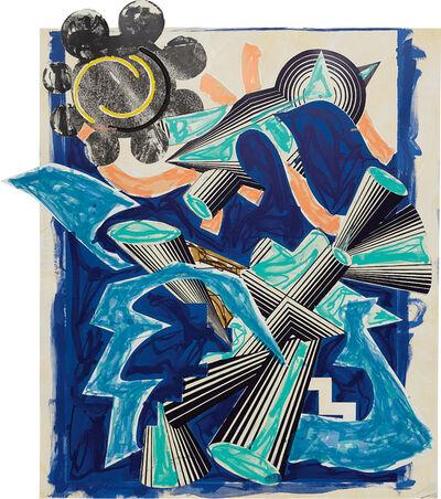 Frank Stella, 'B. Had Gadya: Back Cover, from Illustrations After El Lissitzky's Had Gadya', 1982-1984