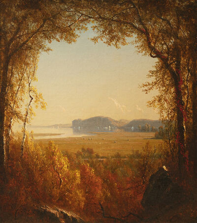 Sanford Robinson Gifford, 'Hook Mountain near Nyack, New York', 1867