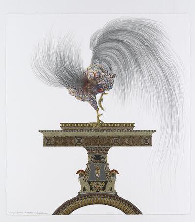 Raqib Shaw, 'Whimsy Beasties...Hounderel I', 2012