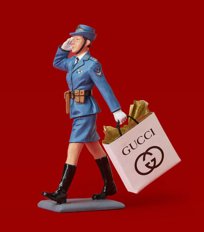 Jim Riswold, 'THE PEOPLE'S LIBERATION ARMY GOES SHOPPING (AT GUCCI)', 2015