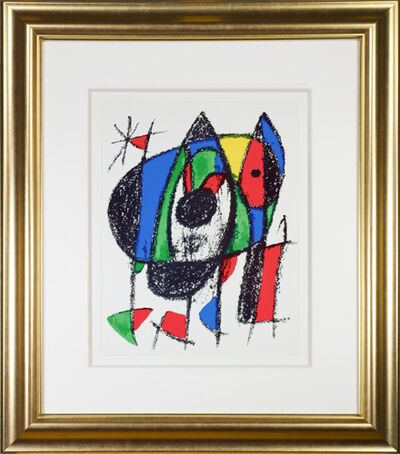 "Joan Miró, 'Original Lithograph V from ""Miro Lithographs II, Maeght Publisher""', 1975"
