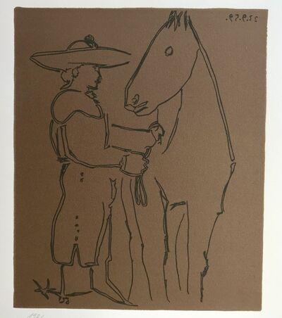 Pablo Picasso, 'Picador and Horse', 1988