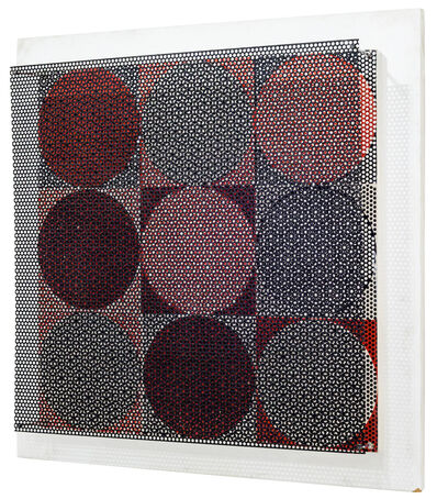 Antonio Asis, '9 Vibrations Couleur', 1966