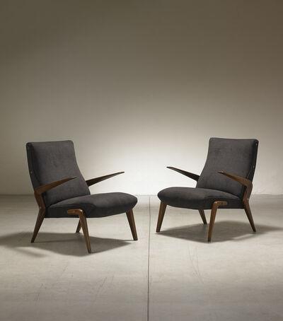 Osvaldo Borsani, 'Pair of armchairs mod. P71 ', 1954