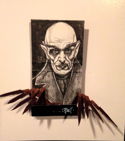 matchbox artists, 'Nosferatu', 2015