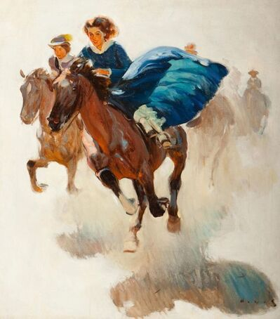 Harold Von Schmidt, 'The Race', 20th Century