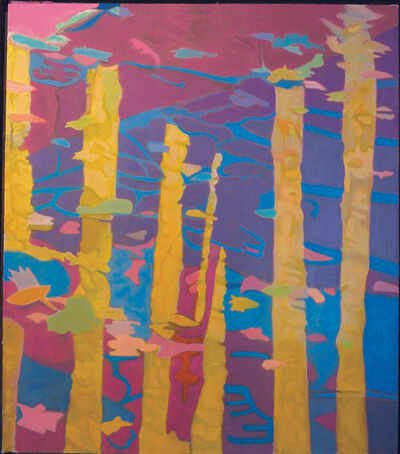 Ralph Wickiser, 'Yellow Reflection II', 1987