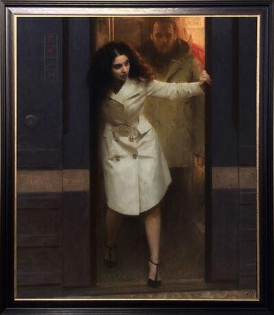 Nick Alm, 'Holding Doors', 2017