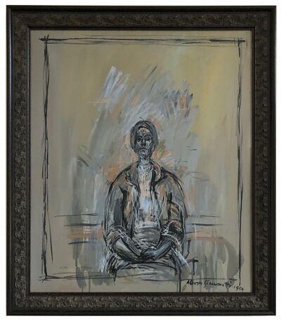 John Myatt, 'Portrait of Annette (after Giacometti)', 2008
