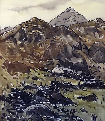 Kyffin Williams, 'Blaen Nant', ca. 1975
