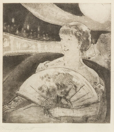 Mary Cassatt, 'In the Opera Box (No. 3)', c. 1880