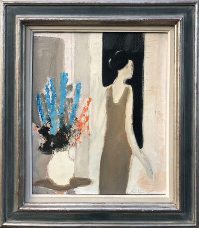 Andre Brasilier, 'Woman with a bouquet ', 1963
