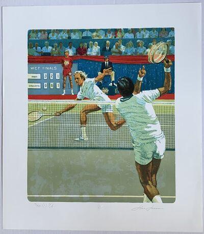 Jim Jonson, 'Vitas Gerulaitas vs. Eddie Dibbs (WCT Finals, 1978)', ca. 1979
