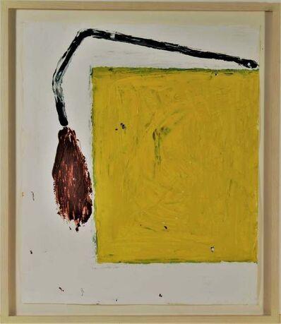 """José María Sicilia, '""""Untitled, Yellow squire"""" ', 1985"""