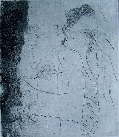 Jacob Gildor, ' Two Figures', 1996