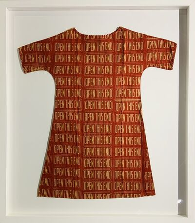 Andy Warhol, 'Open this end (Paper dress)', 1966