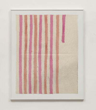 Giorgio Griffa, 'Verticale', 1975