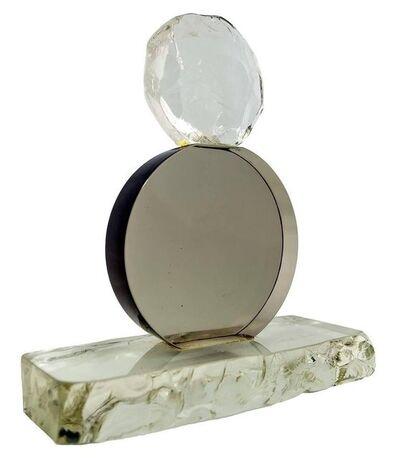 Salviati, 'Salviati Venezia Murano Glass Abstract Sculpture Rough and Smooth', 20th Century