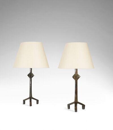 Alberto Giacometti, 'Paire de lampes trepieds', ca. 1966
