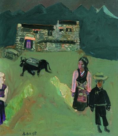 Zhang Yongxu, 'Reaction', 1988