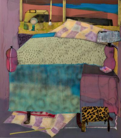 Fabian Treiber, 'Motelbed', 2018