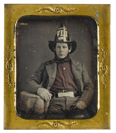 Anonymous American Photographers, 'Selected Images of Firemen'
