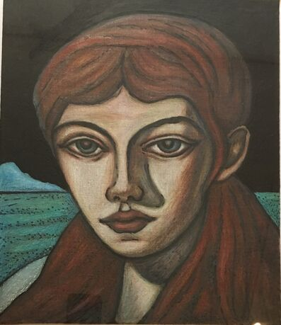 Adrian Wiszniewski, 'Frontier Girl'