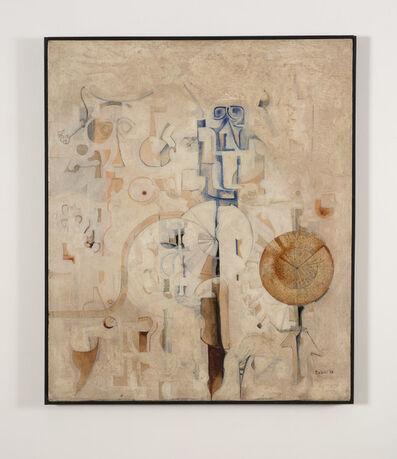 Ibrahim El-Salahi, 'Alphabet No. II', 1968
