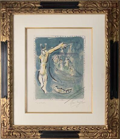 Marc Chagall, 'Près des eaux d'Aulis blanches de remous quand les voiles carguées', 1967