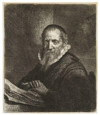 Rembrandt van Rijn, 'Portrait of Jan Cornelisz Sylvius', 1633