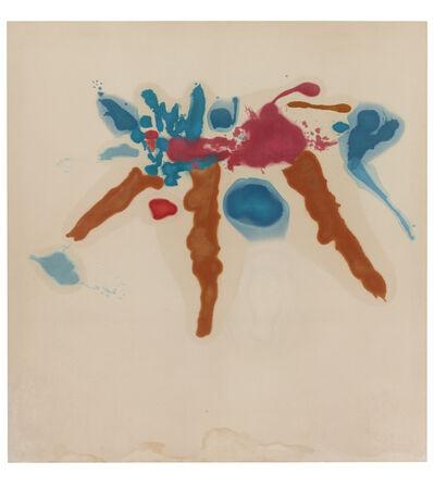 Helen Frankenthaler, 'Approach', 1962