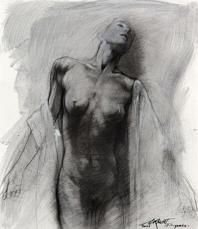 Ernest Pignon-Ernest, 'Etude pour Hildegarde', 2006