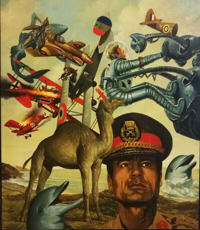 Erró, 'Soft Kadhafi', 1974