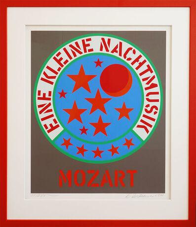Robert Indiana, 'Mozart - eine kleine Nachtmusik', 1971
